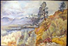 Ann Matthews Boyd , listed artist , Original Watercolor , Dated 1924