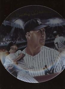 1986 Sports Impressions Mickey Mantle Plate MINT