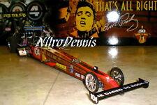 NHRA Clay Millican MILESTONE 1:16 DIECAST Top Fuel NITRO Dragster ELVIS PRESLEY