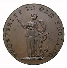 Great Britain Norfolk Norwich More Trade Fewer Taxes Halfpenny Token D&H-23b