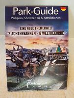 Freizeitpark Phantasialand Brühl. Faltprospekt Park Guide 2017.