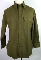 WWII US M1937 M37 ENLISTED NCO WOOL COMBAT FIELD SHIRT-3XLARGE