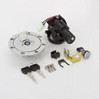 Ignition Switch Fuel Gas Cap Seat Lock Key Set For Honda CBR600 F4I  2001-2002 e