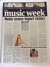 MUSIC WEEK MAGAZINE  17 JULY 1999  MUSIC SCORES IMPORT VICTORY     LS