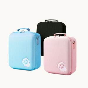Kawaii Cat Paw Deluxe Carrying Travel Case Bag for Nintendo Switch Pro Joy-Con