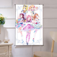 60X90cm Anime Aikatsu Stars! HD ART Poster Wall Scroll Home Decor Gift #W494