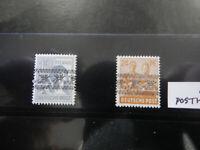 Germany Stamps # 563A//599 VF OG MNH 12x overprinted inverted series Rare