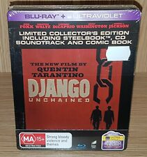 Django Unchained Limited Edition Steelbook Blu-ray - Brand New & Sealed