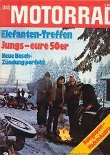 M7103 + Elefantentreffen 1971 + Schweizer Motorradbau + Das MOTORRAD 3/1971