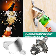 Alloy Wall Mount Opener Bar Club Wine Beer Soda Glass Cap Bottle Open Tool