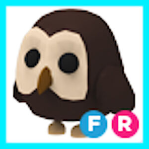 Adopt me pet - FR Owl  Fly Ride ! Roblox