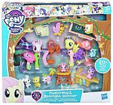 My Little Pony figure bundle Fluttershy & Starlight Pet Care nursery 20+pcs