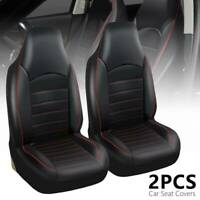 Universal Car Seat Covers Cushions Front Protector Universal Washable Pu Leather