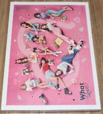 TWICE WHAT IS LOVE? 5th Mini Album A Ver. CD + PHOTOCARD SET + POSTER IN TUBE