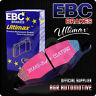 EBC ULTIMAX REAR PADS DP682 FOR NISSAN SUNNY 1.6 GTI (N13) 86-92