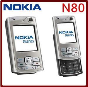 "Original Nokia N80 GPS Bluetooth WIFI 2.1"" GSM 3G WIFI FM MP3 Unlocked Cellphone"