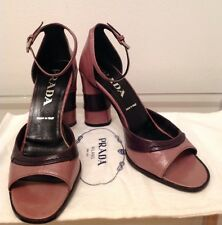 PRADA FASHION OPEN-TOE HEELS: HAVE them THIS Spring - Summer - Prom - Wedding!