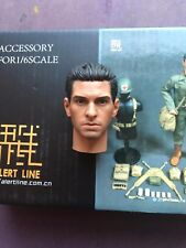 "Alert Line WWII US Army Medic Hacksaw Ridge 12"" Head Sculpt loose 1/6th scale"