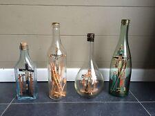 Exceptionnelle collection de  bouteilles de marinier ou passion Christ ex-voto
