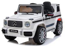 Mercedes G63 AMG, Eva Räder, Kinderauto Kinderfahrzeug Kinder Elektroauto weiß
