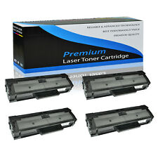 4PK MLT-D101S Toner Cartridge for Samsung SCX-3401 SCX-3401FH SCX-3405 SCX-3406W