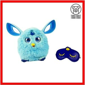 Furby Connect Interactive Electronic Pet Toy Light Blue Mask Hasbro Bluetooth F3