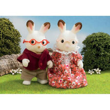 *NEW* SYLVANIAN FAMILIES 4627 Chocolate Rabbit Grandparents Family - Set of 2