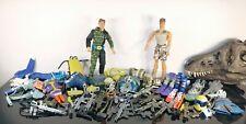 """Mattel Max Steel 12"""" Action Man Lot of Figures & Accessories"""