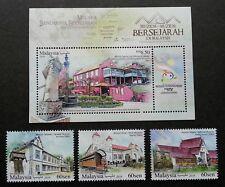 *FREE SHIP Malaysia Historical Museums 2018 Train Zheng He Stamp MS MNH *unusual