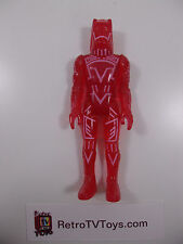 Vintage 1981 Clear Red Sark Action Figure from TRON Disney Movie by Tomy