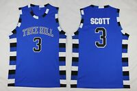 USA Basketball Jersey One Tree Hill Lucas Scott #3 Movie Basketball T-shirts