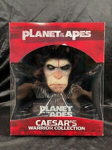 "WETA PLANET OF THE APES ""CAESAR'S WARRIOR COLLECTION"" 1:2 PVC STATUE FIGURE BUST"