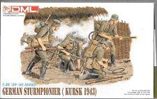 OP DML German Sturmpionier, KURSK 1943, Figures in 1/35  6024
