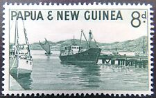 1961-1963 Papua New Guinea Stamps - Pictorials (Definitives) - Single 8d MNH