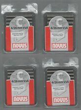 4 X Novus EDELSTAHL V2A , Typ C 4 / 26mm 1100Stk. Takerl Novus ArtNr 0420460