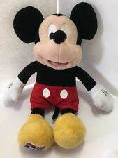 """Rare Walt Disney Mickey Mouse Plush Doll With Postage Stamp On Foot 11"""" Tall"""