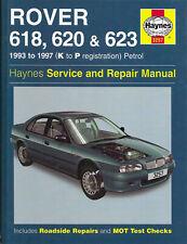 Rover 618 620 623 Service and Repair Manual - Haynes Service and Repair Manuals