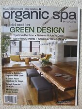 Organic Spa Magazine June 2009 Special Section Green Design