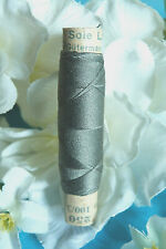 "1336B / Superb Coil Wire Silk Gutermann Laska "" Grey Green "" N° 250"