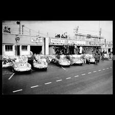 #pha.015199 Photo PORSCHE 550 SPYDER 24 HEURES DU MANS 1954 24H LE MANS Car Auto