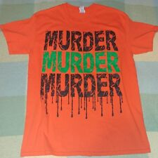 RARE TWIZTID MURDER FRIGHT FEST PROTOTYPE T SHIRT WITH C.O.A. ONE OF A KIND