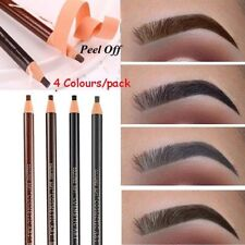 4 Colors Microblading Eyebrow Peel-off Pencil Liner Permanent Makeup Waterproof