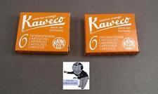 # KAWECO Cartuchos 2 paquetes tinta Sol naranja NUEVO #