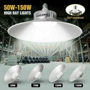 50W/70W/100W/150W UFO LED High Bay Light Industrial Warehouse Factory Workshop