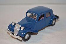 Norev 29 Citroen 11 A 1936 blue plastique perfect mint superb