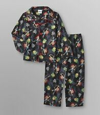 YO GABBA GABBA TODDLER SLEEPER// PAJAMAS detachable cape 3T or 4T not footed