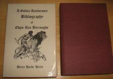 A Golden Anniversary Bibliography of Edgar Rice Burroughs Ltd Ed. H.H. Heins