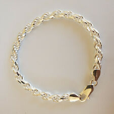 Rope 8 inches 925 sterling siver Bracelet