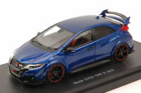 Honda Civic Type R 2015 Brillant Sporty Blue Metallic 1:43 Model 45355 EBBRO