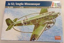Italeri 1/72 Ju 52/3mg6e Minesweeper Model Ltd Edition Model Kit 126